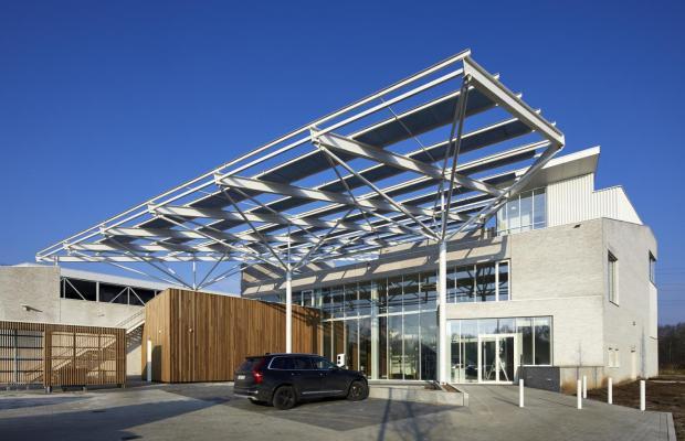 La Confédération Construction Limbourg a confié la construction du nouveau Bouwcampus à Mathieu Gijbels et HVC Architecten.